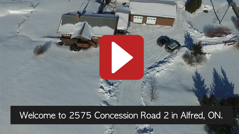 2575 Concession 2, Alfred, Aerial Video Tour